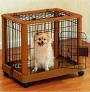 Richell 94127 Mobile Pet Pen - Small