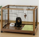 Richell 94128 Mobile Pet Pen - Large