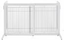 Richell 94158 Small Cool Breeze Freestanding Pet Gate - Tall