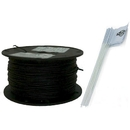 Essential Pet BK-20G-500 Essential Pet Heavy Duty In-Ground Fence Wire and Flag Kit 500 Feet