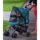 Pet Gear PG8100NZEM Happy Trails No-Zip Pet Stroller - Emerald