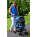 Pet Gear PG8100NZSP Happy Trails No-Zip Pet Stroller - Sapphire