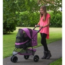 Pet Gear PG8250NZOR Special Edition No-Zip Pet Stroller - Orchid