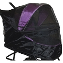 Pet Gear PG8250NZWC Weather Cover for Special Edition No-Zip Pet Stroller - Black