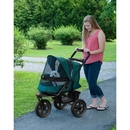 Pet Gear PG8350NZFG AT3 No-Zip Pet Stroller - Forest Green