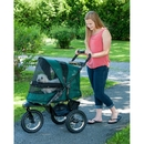Pet Gear PG8400NZFG Jogger No-Zip Pet Stroller - Forest Green