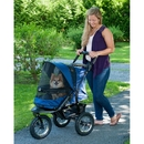 Pet Gear PG8400NZMR Jogger No-Zip Pet Stroller - Midnight River