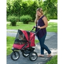 Pet Gear PG8400NZRR Jogger No-Zip Pet Stroller - Rugged Red