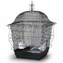 Prevue Hendryx PP-220BLK Elegant Scrollwork Bird Cage - Black
