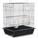 Prevue Hendryx PP-25212/B Square Roof Parakeet Cage - Black