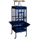 Prevue Hendryx PP-3151BLUE Small Wrought Iron Select Bird Cage - Cobalt Blue