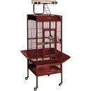 Prevue Hendryx PP-3151RED Small Wrought Iron Select Bird Cage - Garnet Red