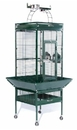 Prevue Hendryx PP-3151SAGE Small Wrought Iron Select Bird Cage - Sage Green