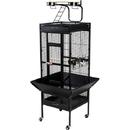 Prevue Hendryx PP-3152BLK Medium Wrought Iron Select Bird Cage - Black