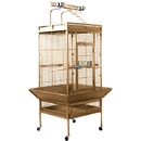 Prevue Hendryx PP-3152COCO Medium Wrought Iron Select Bird Cage - Coco Brown