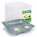 Prevue Hendryx PP-850G/W Clean Life Small Flight Cage - Green & White