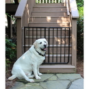Cardinal SS-30OD/B Stairway Special Outdoor Pet Gate - Black