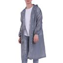 GOGO EVA Reusable Raincoat with Drawstring Hood, Adult Jacket Rain Poncho