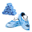 GOGO Disposable PE Shoe Covers Rain Boot Covers Thickened Non-Slip Dustproof Overshoe Outdoor Walking