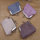 Aspire 12 Pack Mini Keychain Pouches, Change Purse with Clasp 2-3/4 Inches