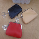 Aspire 12 Pack Double Clip Frame Purse with Keychain & Lobster Clasps, 4 3/4