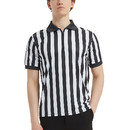 TOPTIE Sportwear Men's Pro-Style Referee Shirt with Quarter Zipper