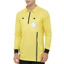 TOPTIE Men's Official Soccer Long Sleeve Referee Jersey USSF Pro Uniform