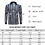 TOPTIE Men's Official Long Sleeve Black & White Striped Referee Shirt, Pro-Style Ref Umpire Jersey