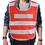 GOGO High Visibility Reflective Safety Vest, Mesh Safety Vest