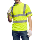 GOGO High-Visibility T-Shirt with Moisture Wicking Mesh, with Pocket