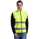 GOGO Multi Pockets Volunteer Activity Vest Windproof Reflective Safety Vest