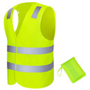 GOGO Bright Breathable High Visibility Safety Vest with Carry Bag