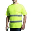 GOGO Hi Vis ANSI Class 3 T Shirt Reflective Safety Short Sleeve with Pocket