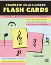 Rhythm Band Instruments 00-12061 Color Coded Flash Cards