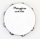 "Rhythm Band Instruments JTAM10 10"" 'Make a Joyful Noise' Tambourine"