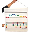Rhythm Band Instruments LRCS30 Color Felt Staff
