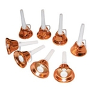 Rhythm Band Instruments RB105 8-note Single Ring Handbells