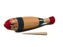 """Rhythm Band Instruments RB1212 15"""" Wood Guiro w/ Scraper"""