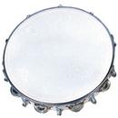 "Rhythm Band Instruments RB930DJ 10"" Tambourine- 18 Jingles Tuneable"