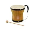 Rhythm Band Instruments  BamBoom Natural Bongo with Strap
