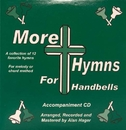 Rhythm Band Instruments SP2404 More Hymns for Handbells, Book, CD