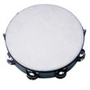 Rhythm Band Instruments TAM10 10 Polyfiber Head Tambourine - 8 (pr) Jingles