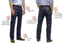 ROUND HOUSE Cowboy  Jeans Slim Fit (14 oz.)