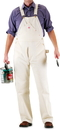 ROUND HOUSE Men's Natural Painter  Bib Overalls (9.5 oz. drill)