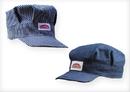 ROUND HOUSE Railroad Caps (Adult - Stripe or Blue Denim)