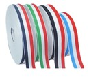 100 Yards Tri-Color Grosgrain Ribbon Polyester Ribbon Medal DIY Hair Accessories Red/White/Blue