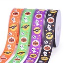100 Yards Halloween Ribbon Grosgrain Ribbon Webbing Party Festival DIY Headwear Decoration