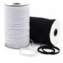 Elastic Cord Rope DIY 144-Yards Width Flat Elastic Band Sewing Stretch Rope for Garment White