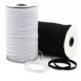 1MM//2MM//3MM White//black Thin Round Elastic Bands Elastic Rope Wedding Garment