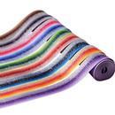 Glitter Fabric Grosgrain Ribbon 1.5